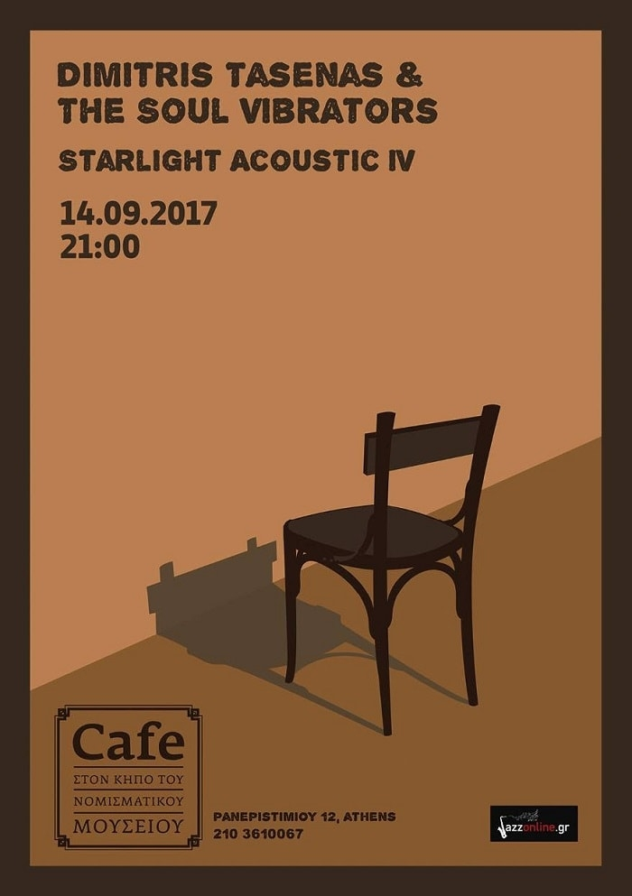 Dimitris Tasenas & The Soul Vibrators Starlight Acoustic | 14.09